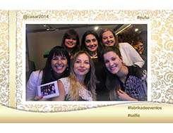 Fotografia selfie impressa no evento - 3